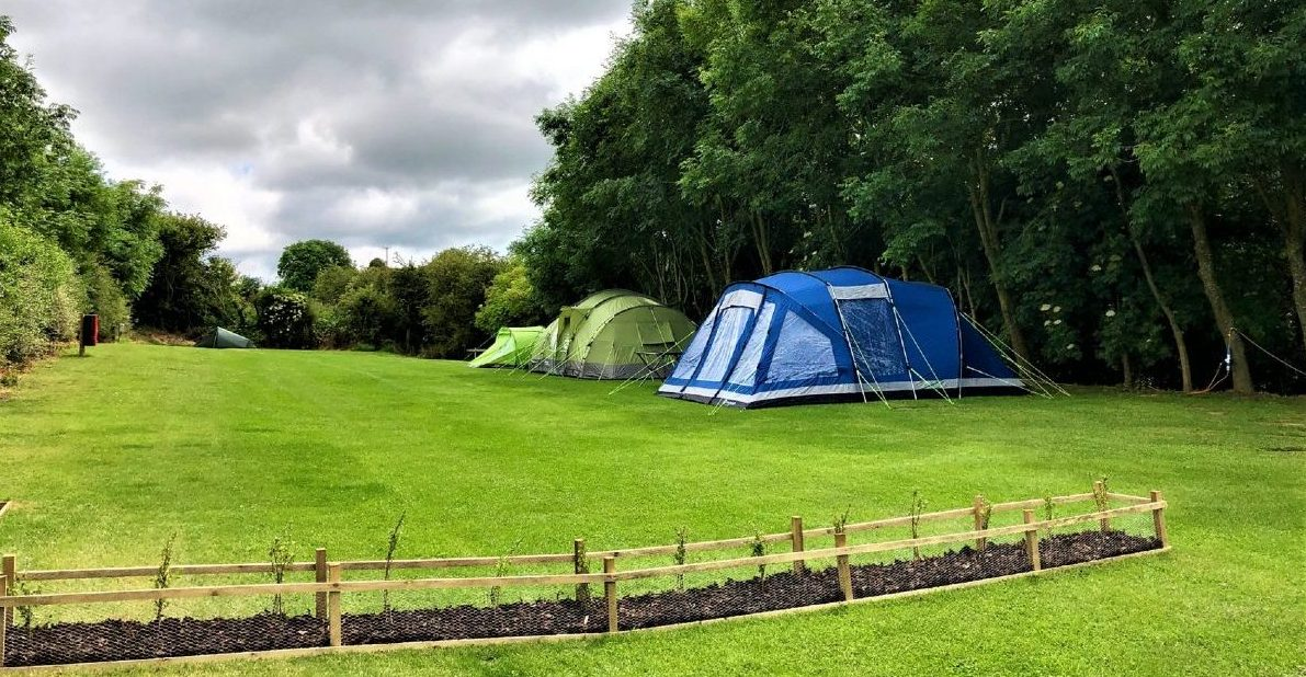 Top Camping Field at Strawberry Hill Farm
