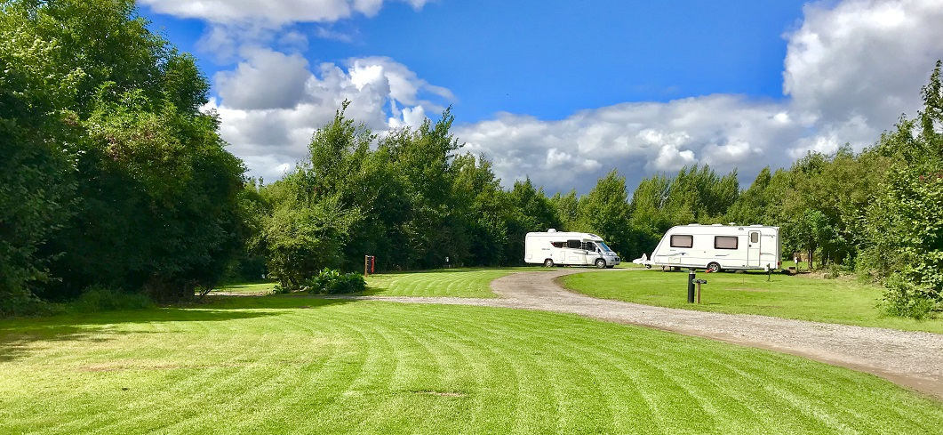 Colliey Way - Camping Area at Strawberry Hill Farm Camping & Caravan Park