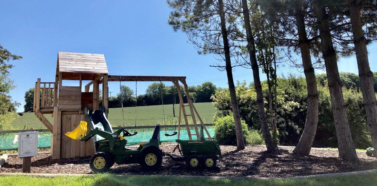 Play Area at Strawberry Hill Farm Camping & Caravan Park