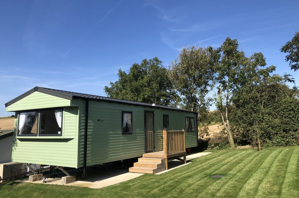 Willerby Mistral - Holiday Home for hire at North East Holiday Park - Strawberry Hill Farm Camping & Caravan Park